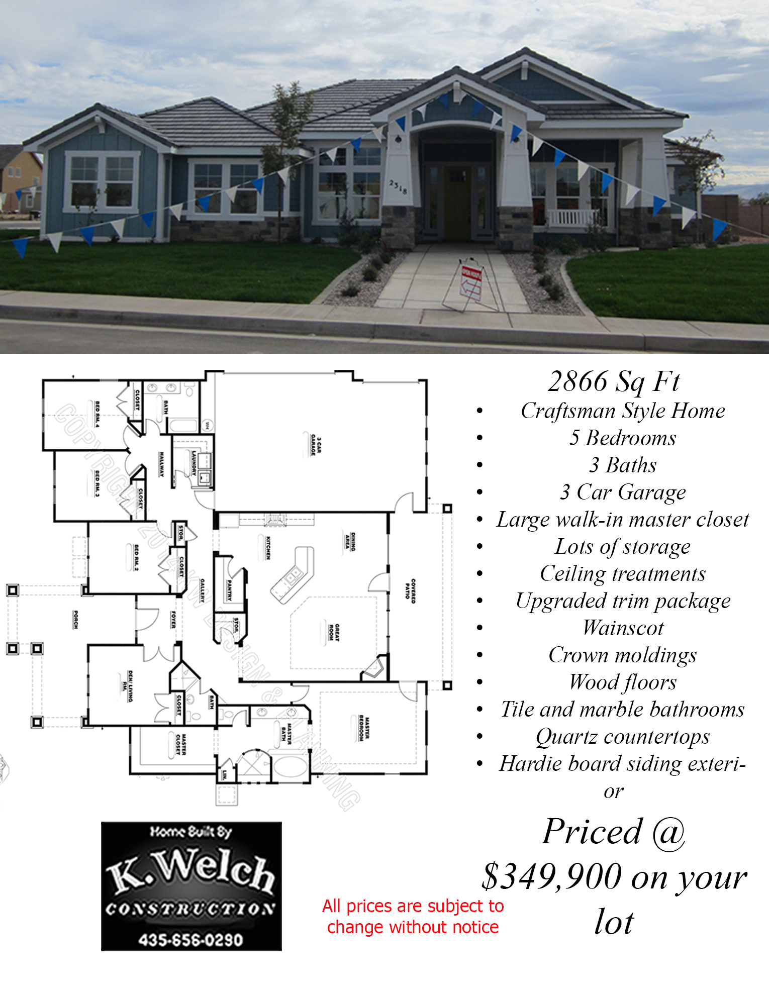 2500 3000 sq ft k welch homes for 2500 to 3000 sq ft homes
